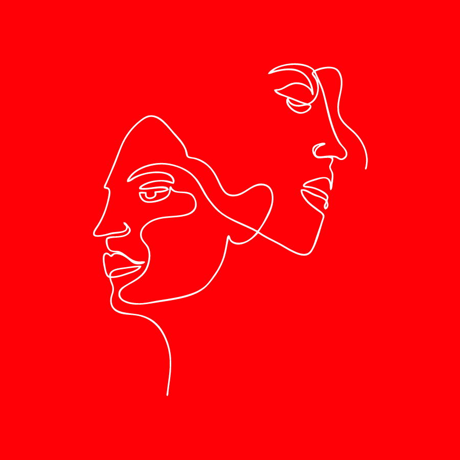 Line Drawing human experience
